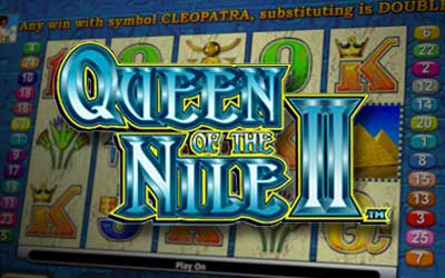 Aristocrat Gaming - Queen of the Nile 2 Pokie