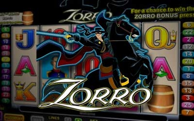 Zorro online pokie game by Aristocrat
