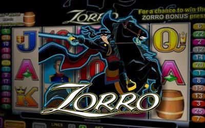 Zorro online pokie game by Aristocrat